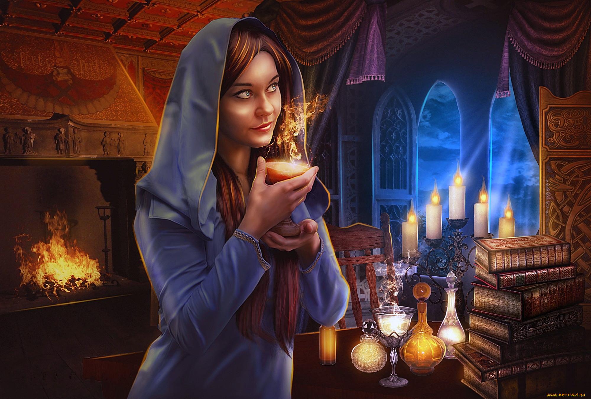 Картинки фэнтези волшебник